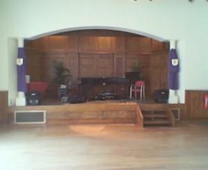 Dillington-Stage